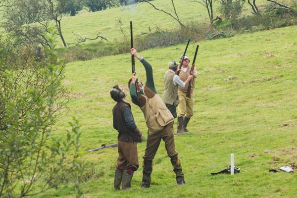 Challacombe Estate - Driven Pheasant & Partridge Shooting