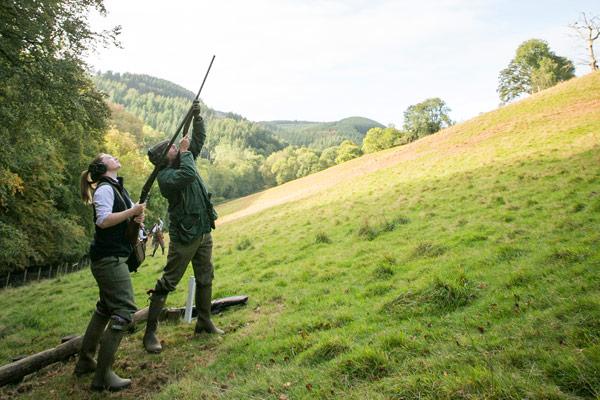 Combe Sydenham - Driven Pheasant & Partridge Shooting