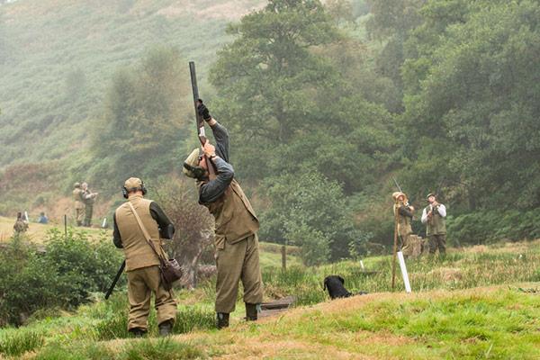 Cyffylliog - Driven Pheasant & Partridge Shooting
