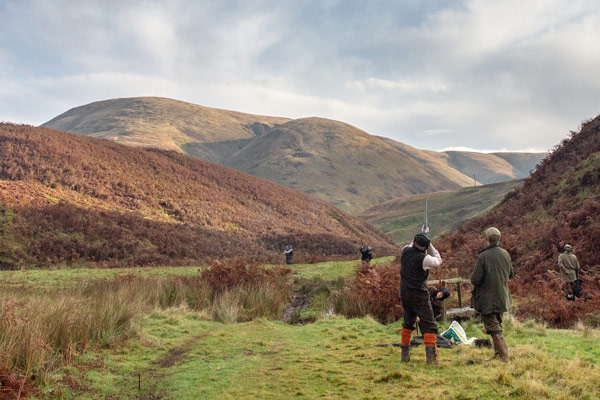 Drumlanrig - Driven Pheasant & Partridge Shooting