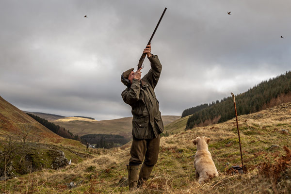 Saint Mary's Loch Shoot - Driven Pheasant & Partridge Shooting